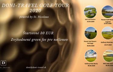 Doni-Travel golf tour 2020