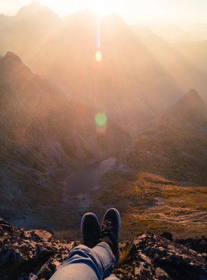 mountains-sunset-summer-relaxing